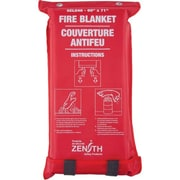 Zenith Safety - Couverture antifeu, fibre de verre, 72 long. x 59 larg. (po), 3/paquet (SEL048)