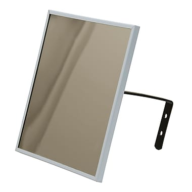Zenith Safety Flat Mirror, Framed, 12