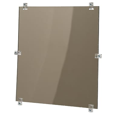 Zenith Safety Flat Mirror, Unframed, 18