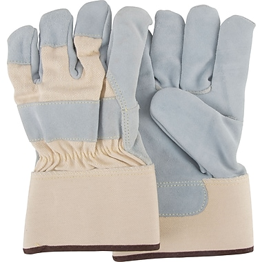 Zenith Safety HPPE Lined Split Cowhide Cut Resistant Gloves, HPPE, 10 Gauge, Large, 12/Pack (SDN114)