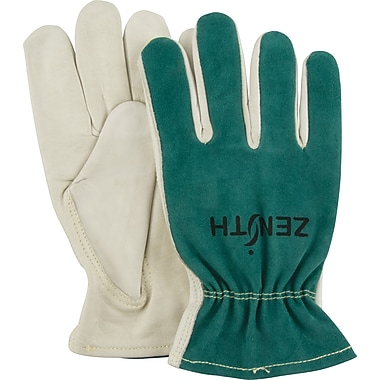Zenith Safety Premium Cowhide Drivers Gloves, Keystone, Large, 12/Pack (SDK967)
