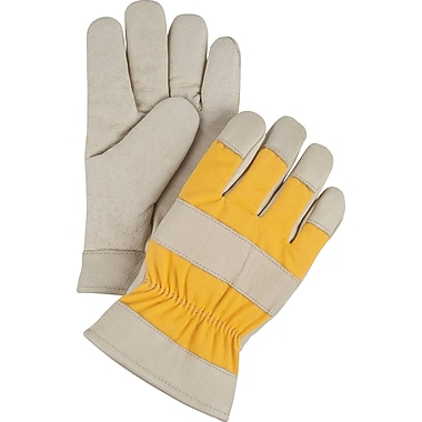 Zenith Safety Premium Quality Grain Pigskin Foam Fleece Lined Gloves, Leather, Small, 12/Pack (SDL465)