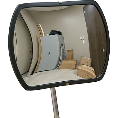 Zenith Safety Roundtangular Convex Mirror, 18