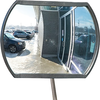 Zenith Safety Roundtangular Convex Mirror, 20