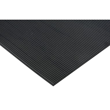 Zenith Safety Runner Mat, 2' x 75', Wiper, Black (SDL875)