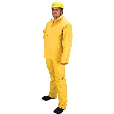 Zenith Safety RZ600 Flame Retardant Rain Suit, Small, Yellow (SEH106)
