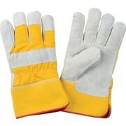 Zenith Safety Split Cowhide Fitters Foam Fleece Lined Gloves, Foam Fleece, 2X-Large, 12/Pack (SDL884)