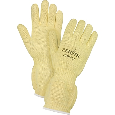 Zenith Safety Terry Cloth Lined Twaron Gloves, Aramid, Terry Cloth, Large, 6/Pack (SDP437)
