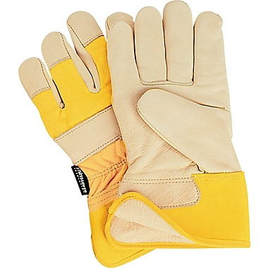 Zenith Safety Thinsulate Lined Grain Cowhide Fitters Gloves, Premium, Safety, 2X-Large, 12/Pack (SDL885)