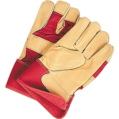 Zenith Safety Thinsulate -Lined Grain Pigskin Fitters Gloves, Safety, 2X-Large, 12/Pack (SDL892)