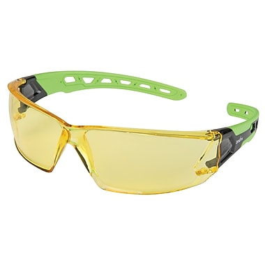 Zenith Safety Z2500 Series Eyewear, Amber, Anti-Scratch, Distortion-Free, 24/Pack (SDN703)