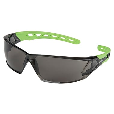 Zenith Safety Z2500 Series Eyewear, Grey/Smoke, Anti-Scratch, Distortion-Free, 24/Pack (SDN702)