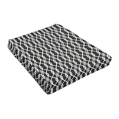Darby Home Co Outdoor Dining Chair Cushion (Set of 2); Black