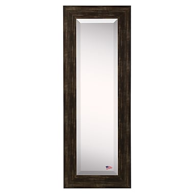Darby Home Co Brushed Classic Brown Body Mirror; 59.5'' H x 20.5'' W x 0.75'' D
