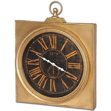 Darby Home Co Gold Wall Clock