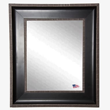 Darby Home Co Rectangle Dark Parma Wall Mirror; 48.25'' H x 42.25'' W x 2'' D