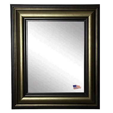 Darby Home Co Stepped Antiqued Wall Mirror; 43.5'' H x 33.5'' W