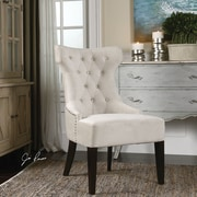 Darby Home Co Boyster Tufted Wing Side Chair