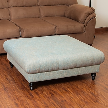 Darby Home Co Avoca Ottoman; Vapor