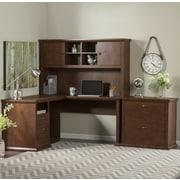 Darby Home Co Watertown 4 Piece L-Shape Desk Office Suite