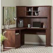 Darby Home Co Watertown 3 Piece L-Shape Desk Office Suite