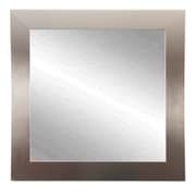 American Value New Interior Solitair Square Wall Mirror