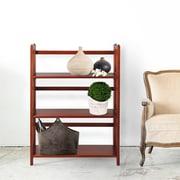 Charlton Home Gosebourne 38'' Standard Bookcase; Mahogany