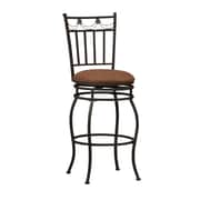 Charlton Home 24'' Swivel Bar Stool