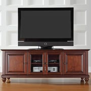 Charlton Home Allingham Low Profile TV Stand; Vintage Mahogany