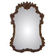 Charlton Home Accent Wall Mirror; Antique Gold