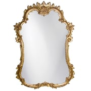 Charlton Home Accent Wall Mirror; Gold Leaf