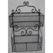 Charlton Home Metal Wall Rack