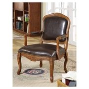 Charlton Home Margarite Faux Leather Arm Chair
