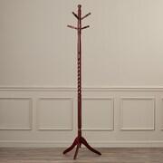 Charlton Home Coat Rack; Cherry