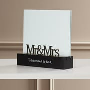 Charlton Home Pottsville Mr. and Mrs. Picture Frame