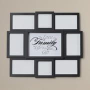 Charlton Home Family Sentiment 8 Opening Collage Hanging Picture Frame