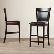 Charlton Home Greentown 24'' Bar Stool (Set of 2)