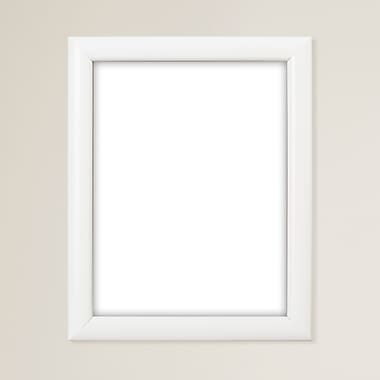 Charlton Home 1'' Wide Smooth Picture Frame; 8'' x 12''