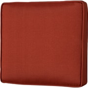 Charlton Home Outdoor Lounge Chair Cushion; Husk Texture Brick