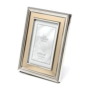 Charlton Home Brushed Gold Inner Panel Metal Picture Frame; 4'' x 6''