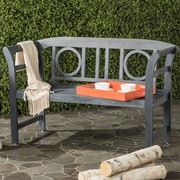 Charlton Home Brinwood 2 Seat Acacia Garden Bench; Ash Gray
