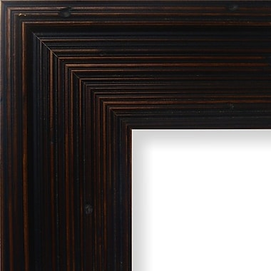 Charlton Home 3.13'' Wide Wood Grain Picture Frame; 8.5'' x 11''