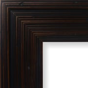 Charlton Home 3.13'' Wide Wood Grain Picture Frame; 12'' x 12''