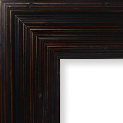 Charlton Home 3.13'' Wide Wood Grain Picture Frame; 8'' x 10''