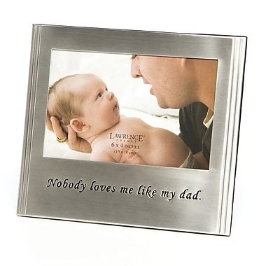 Charlton Home Nobody Loves Me Like My Dad Picture Frame