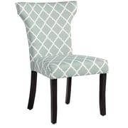 Charlton Home Plainville Lattice Side Chair; Sea Foam Lattice