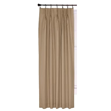 Charlton Home Manchester Thermal Single Curtain Panel; Linen