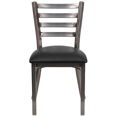 Charlton Home Portland Side Chair; Black