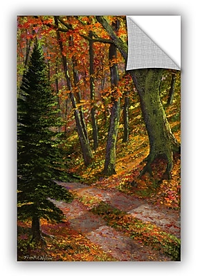 Charlton Home September Road Wall Decal; 48'' H x 32'' W x 0.1'' D