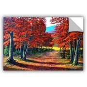 Charlton Home Road To the Clearing Painting Print; 24'' H x 36'' W x 0.1'' D